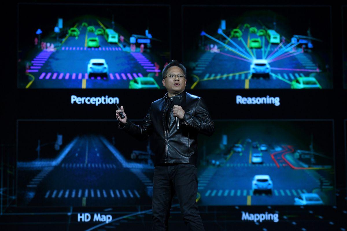 Снимка на NVIDIA Drive PX Pegasus