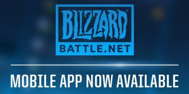 Battle.net mobile app