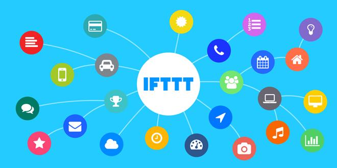 IFTTT е посредник между много виртуални и физически устройства и услуги