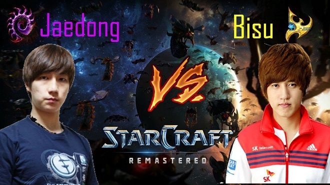 Bisu vs Jaedong StarCraft Remastered