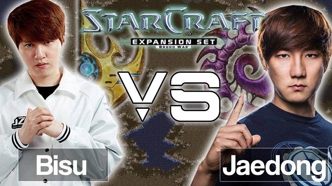 Bisu vs Jaedong History