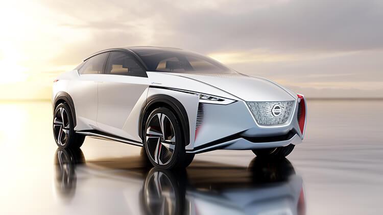 Nissan IMx с пеещата опция Canto