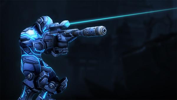 StarCraft II - Ghost Skin