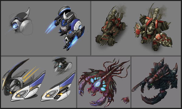 StarCraft II - New Skins