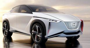 визията на новият концептуален електрически автомобил на Нисан