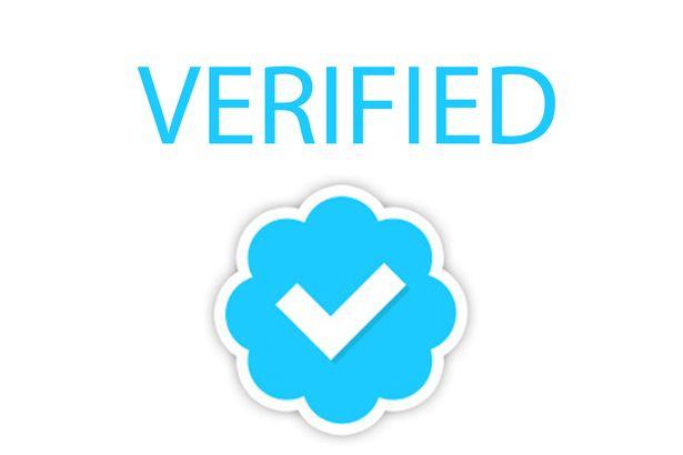 синия бадж на Twitter