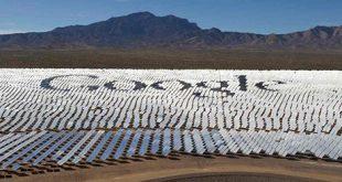 Google ще се захранва почти на 100% от слънчева и вятърна енергия