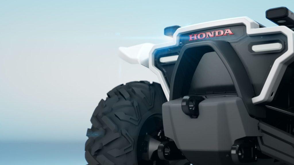 Автономен офроуд автомобил от Honda (3E Robotics)