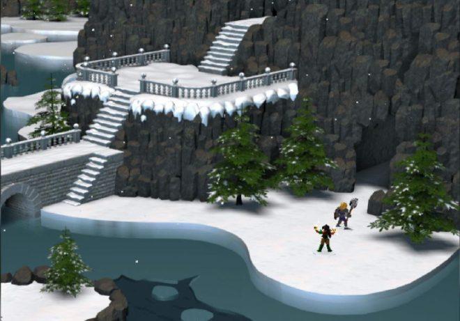 Пейзажите са повече от разнообразни. Тукл виждаме красива снежна картина.