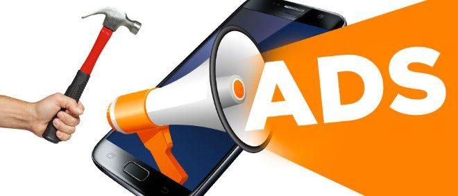 """""""поправка"""" с чук на нежаланите реклами по заключеният екран на Android телефона ни"""