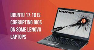Ubuntu 17.10 създава проблеми на лаптопи Toshiba, Lenovo и Acer
