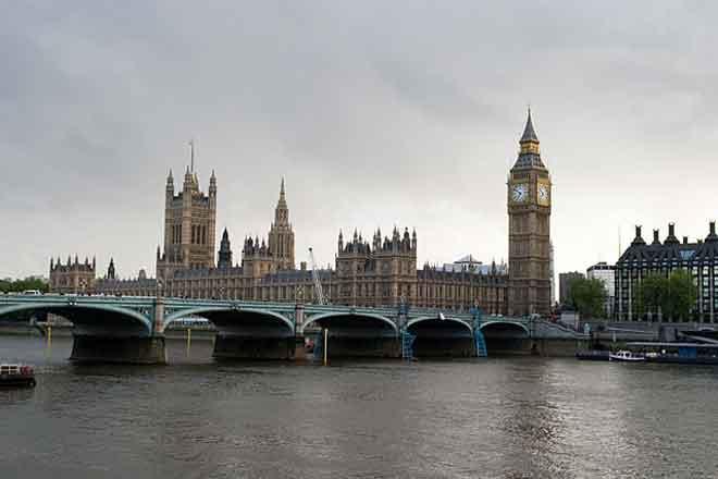 Уестминстърският мост Лондон