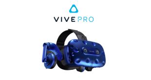 картина на HTC Vive Pro за виртуална реалност