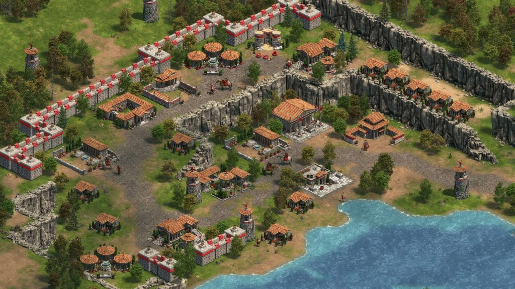 Age of Empires Definitive Edition Greek City
