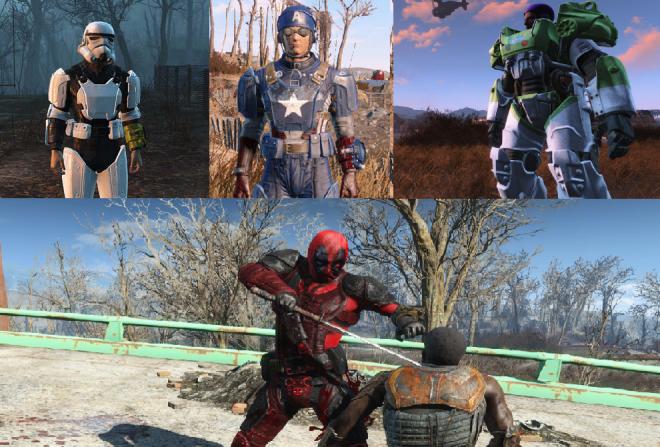 На вашето внимание е само малка част от забавните, но пък напълно безполезни модове, налични за Fallout: New Vegas и Fallout 4.