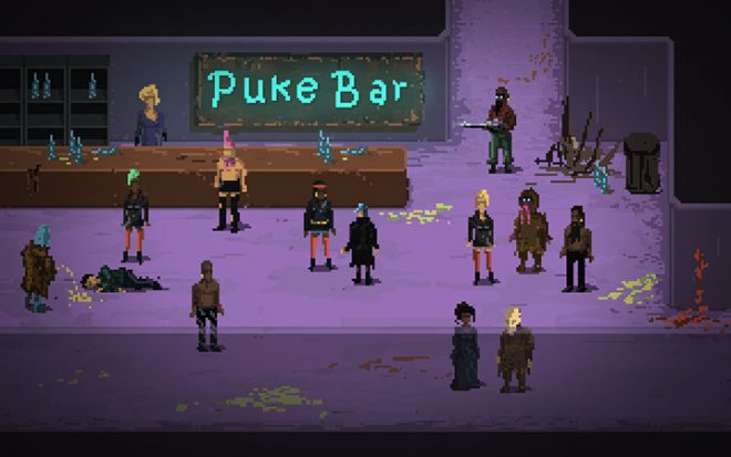Puke bar