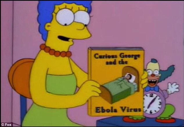 Ебола - Семейство Симпсън