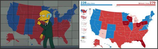 Карта - Семейство Симпсън