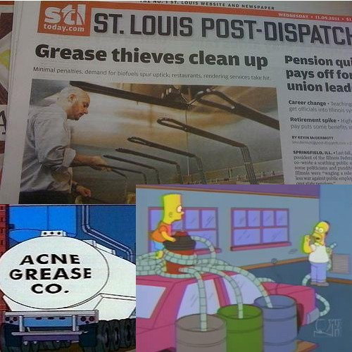 Кражба на мазнина - Семейство Симпсън