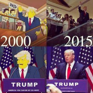Тръмп за президент - Семейство Симпсън