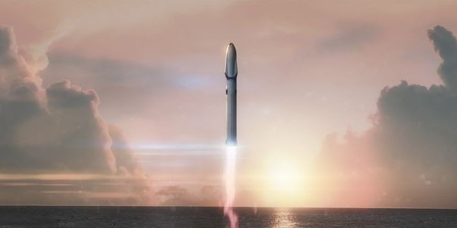 една от ракетите на SpaceX