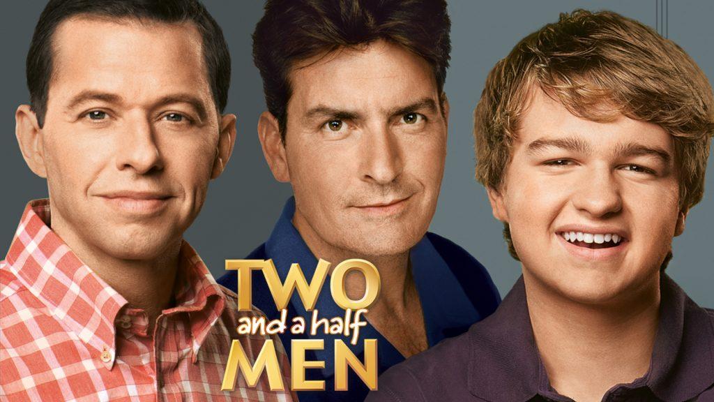 Двама мъже и половина - сериал