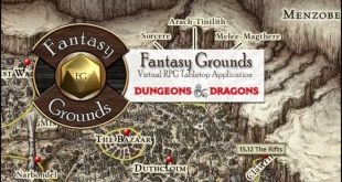 FANTASY GROUNDS – Как да водим онлайн D&D като Dungeon Master