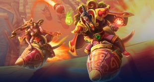 Lunar New Year Heroes of the Storm Rocket Brawl