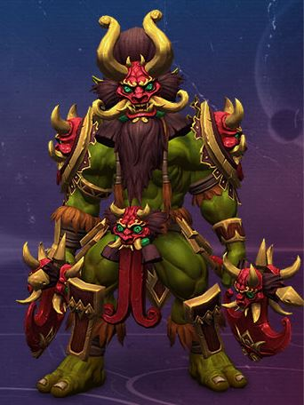 Lunar Zul'jin от Lunar New Year в Heroes of the Storm