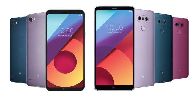 LG G6 и LG Q6