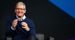 За значителен принос на Appleв здравеопазванетоспоменава главният изпълнителен директор на технологичния гигант Тим Кук.