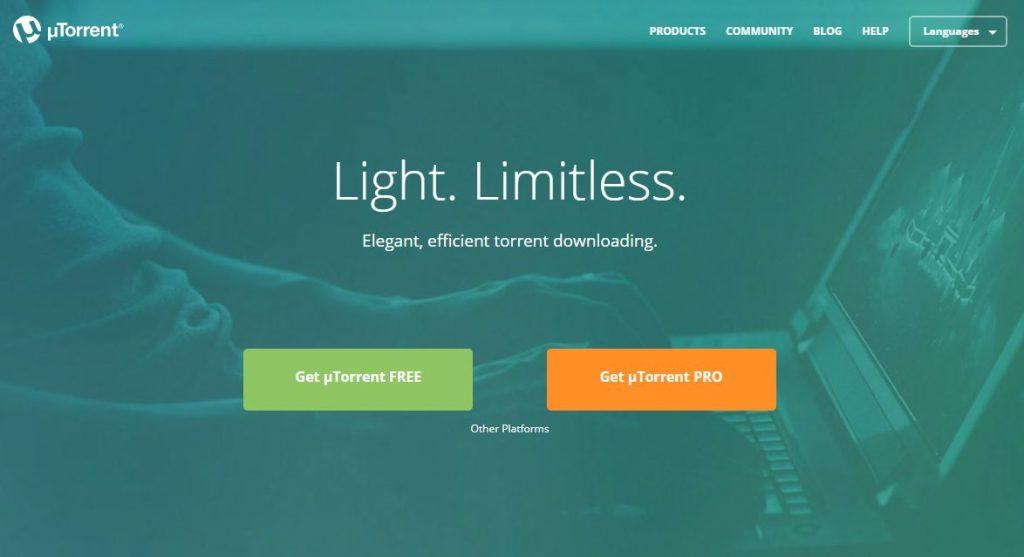 uTorrent - най-използваният от всички торент клиенти