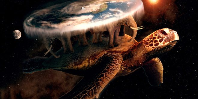 Reddit предлага на вярващите, че Земята е плоска, пътуване в Космоса и ефирно време