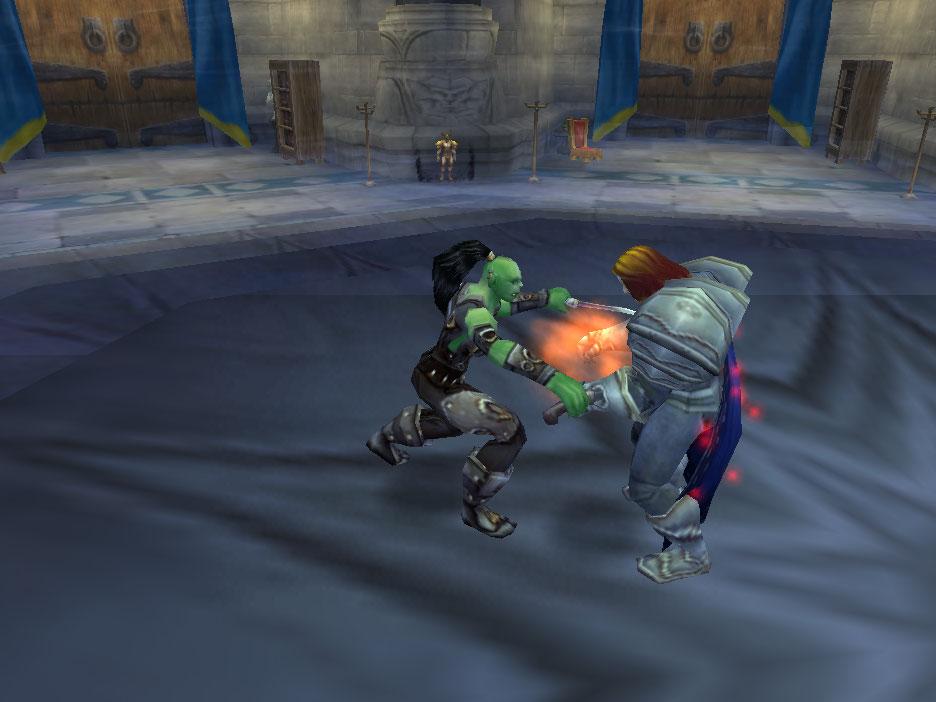 Garona Halforcen Kills King Llane