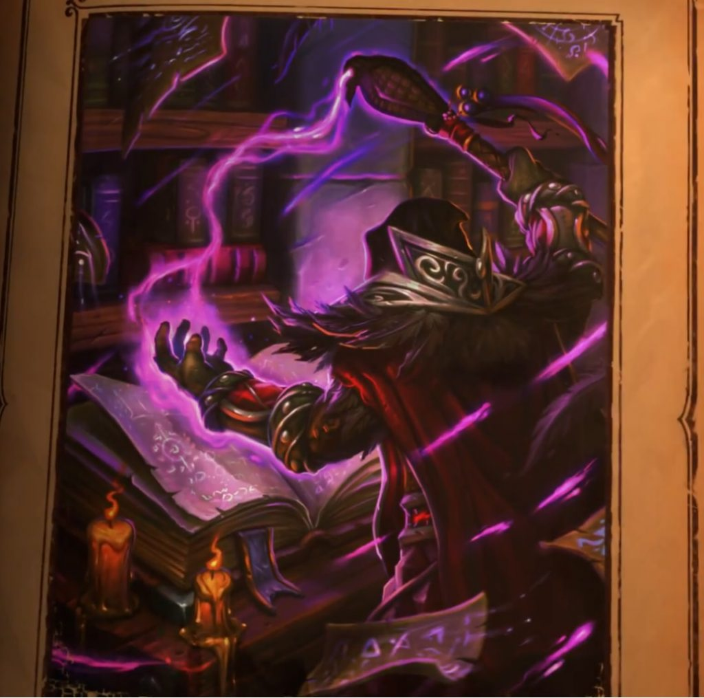 Magus Medivh Casting Spell