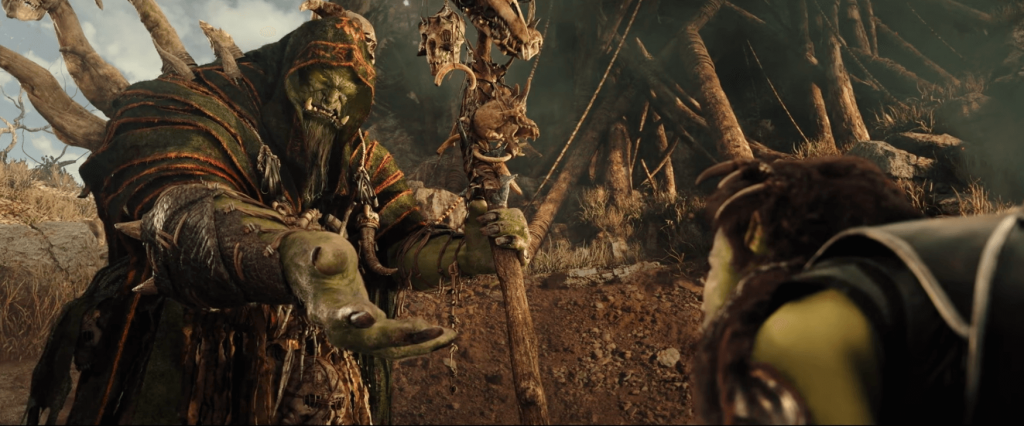 The Horde embraces you. Orc.