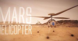 НАСА изпраща хеликоптера Марс да снима червената планета от птичи поглед