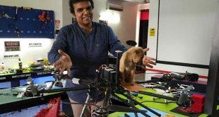 Инженер подобри дрон, за да спаси куче