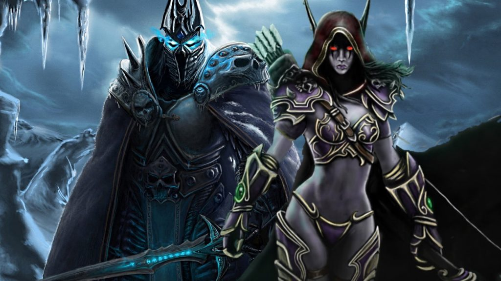 Sylvanas and Lich King