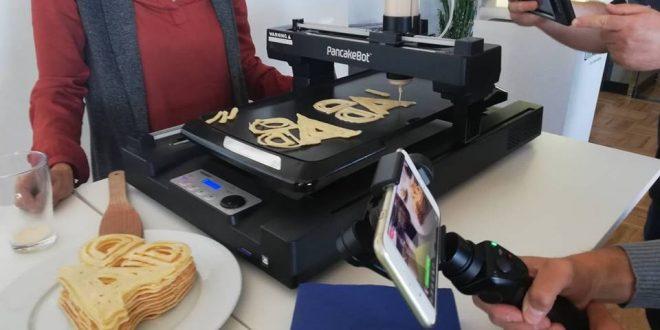 3D принтирани палачинки