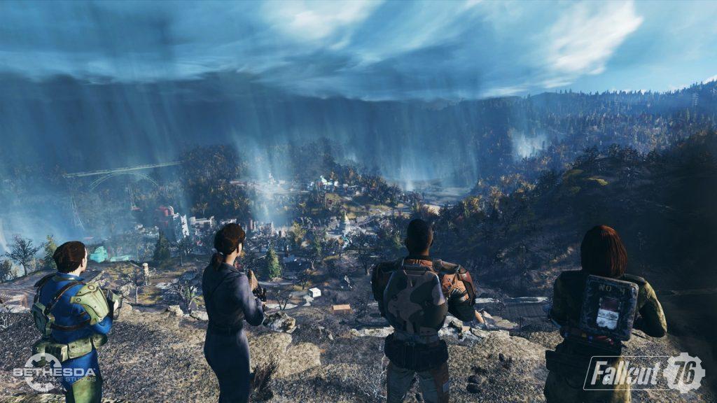 Fallout 76 бета - карта