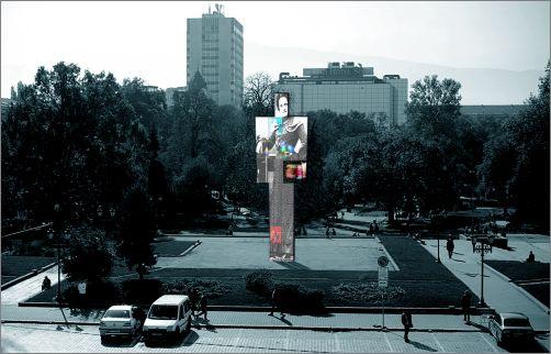 """Високотехнологичната интерактивна инсталация """"Един човек"""" заменя Бронзовата къща?"""