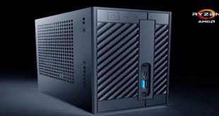 Asrock DeskMini A300 най-малкото PC с Ryzen