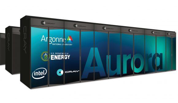 Рендирано изображение на предстоящия нов суперкомпютър на Intel - Aurora. Източник: pcgamesn