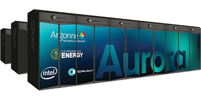 Нов суперкомпютър от Intel - Aurora