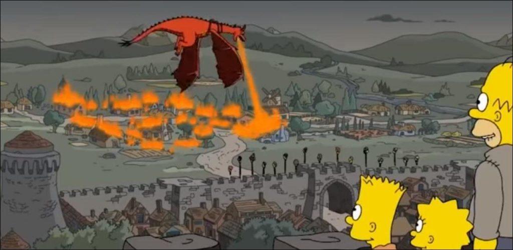 Kings Landing Simpsons