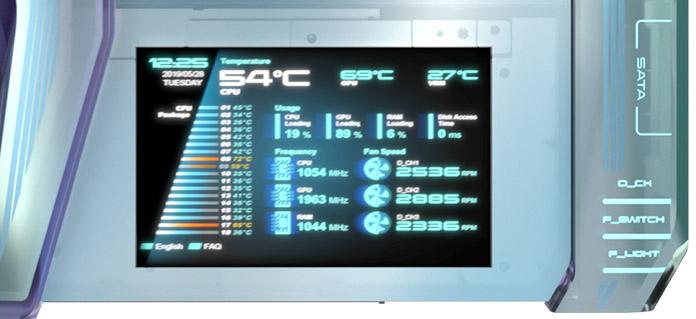 OLED екрана на Asus Prime Utopia. Източник: edgeup.asus.com