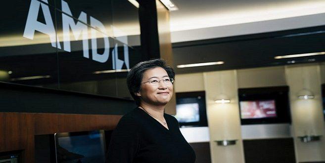 AMD с рекордни приходи Lisa Su на снимката