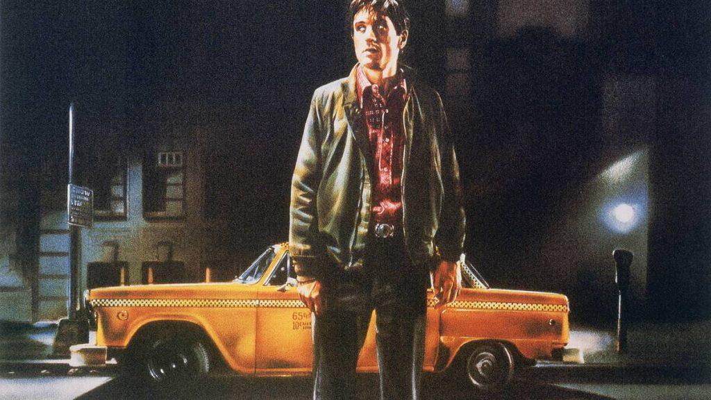 Робърт Де Ниро в Шофьор на такси от 1976