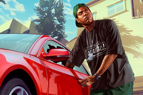 Lamar Davis from GTA 5